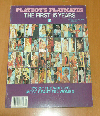 Playboy's Playmates The Firts 15 Years Photos Nus Nudes Rare 1983 Marilyn Monroe