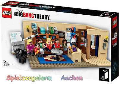 LEGO IDEAS 21302 The Big Bang Theory Exclsuiv Edition OVP BnISB