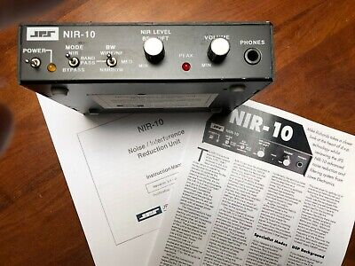 JPS NIR-10 RADIO Noise Interference Reduction Audio Filter SSB CW AM Ham CB  DSP