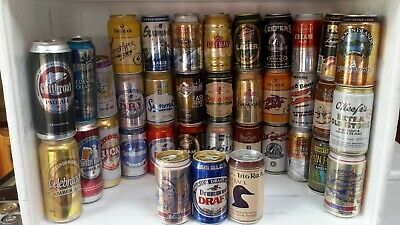 36 Canadian Aluminium Beer Cans from Various Breweries