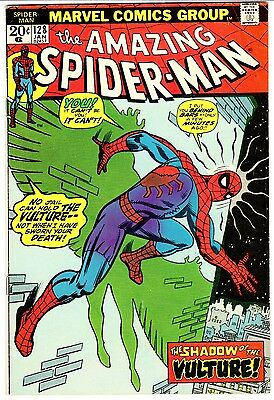 AMAZING SPIDER-MAN #128   VULTURE!  F (6.0)  FAR FROM HOME Movie!  ROMITA Cover!