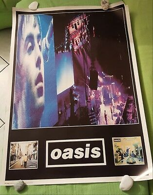 Oasis poster whats the story morning glory & definitely maybe