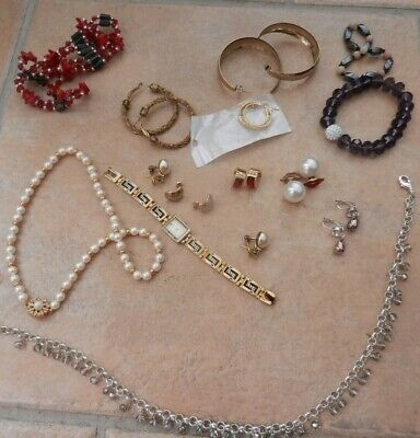 Joblot Costume Jewellery Mostly Vintage All In Perfect Condition