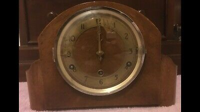 Camerer Cuss Kuss 54&56 New Oxford St London Mantel Clock Tower English Movement