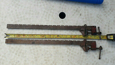 Pair of Small Vintage Sash Clamps