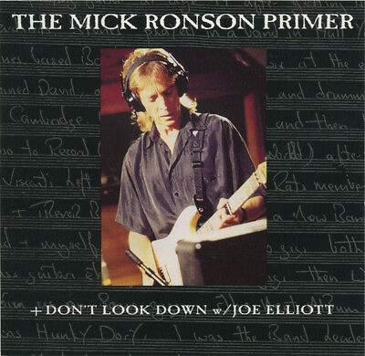 RARE The Mick Ronson Primer NEW CD 1994 Epic lou reed def leppard david bowie