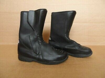 d3eb8cba4c3 NEW MOTORBIKE MOTORCYCLE Touring Leather Shoes Boots Touring Shoes ...