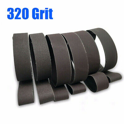 Sanding Belts Metalworking Cutter Sharpening 1800x50mm Aluminum Oxide Industrial