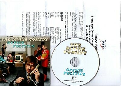 Promo Cd The Divine Comedy Office Politics + Press Release Promotional Only