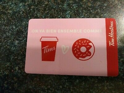 Collectable Tim Hortons Bien Ensemble Gift Card #Fd64686..No Monatary Value