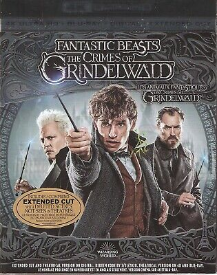 Fantastic Beasts The Crimes Of Grindelwald 4K Ultra Hd & Bluray & Digital Set