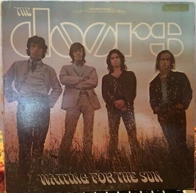The Doors Waiting For The Sun Brown Eks 74024 Acid Psych Classic Rock Vg-/Vg-