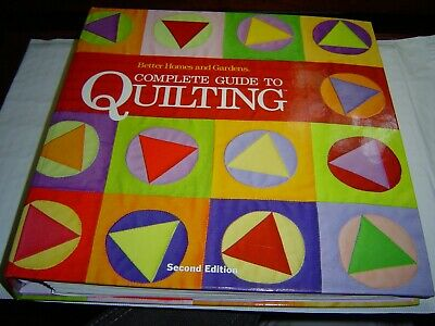 """""""Like New Cond"""" Complete Guide To Quilting Better Homes & Gardens 2Nd Ed Hc 2012"""