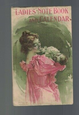 Ladies Notebook & Calendar 1900 Dr Pierce's Quack Medicine Buffalo NY