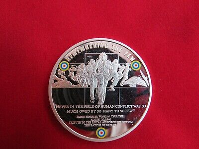 BATTLE OF BRITAIN DAY COIN 1940-2010  70th Anniversary