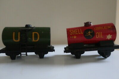 Vintage Original Collectable Model Railway Carriages Esso, Shell  & U D