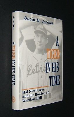 A Tiger in His Time - Signed by Hal Newhouser - HC 1990 - Baseball - Detroit