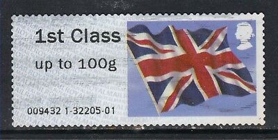 GB 2012 QE2 1st Post & Go up to 100 gms Union flag ( R722 )