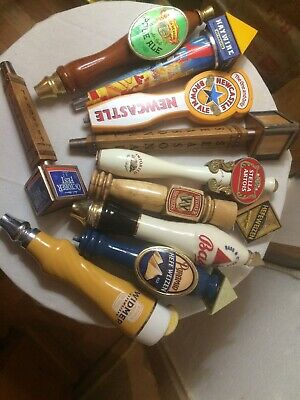 lot of 10 beer tap handles