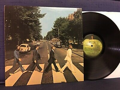 THE BEATLES - Abbey Road - 1969 - Apple Label - Stereo
