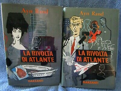 Ayn Rand La Rivolta Di Atlante (Atlas Shrugged) First Italian 1958
