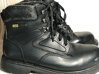 2b4c440a6ce STANLEY STEEL TOE Men's Work Boots Size 12M USA Preowned black oil ...