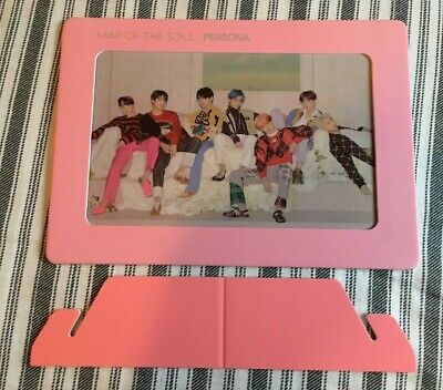 Official Bts Map Of The Soul: Persona Pre-Order Aurora Photo Frame Version 4