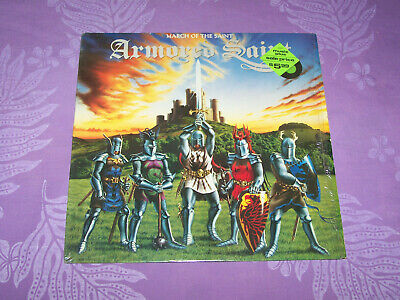 Armored Saint - March Of The Saint - 1984 US  LP Record - Shrink - EX  LOW PRICE