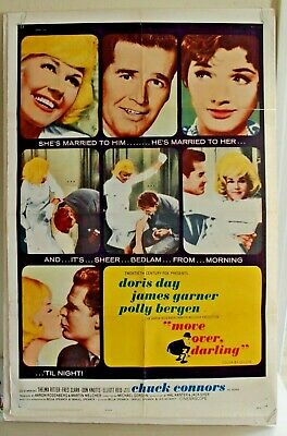 THE THRILL OF It All Original Insert Poster Doris Day James