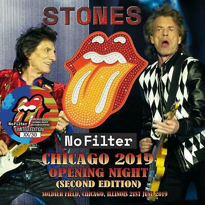 The Rolling Stones No Filter Chicago 2019 Opening Night 2Cd