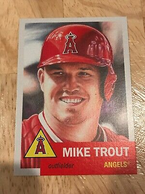 2019 Topps Living Set Mike Trout #200 Los Angeles Angels