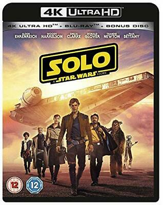 Solo: A Star Wars Story [4K] [Blu-ray] [2018] [Region Free] - DVD  QQVG The