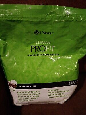 It Works! PROFIT protien shakes (Rich Chocolate) expired 3/2018
