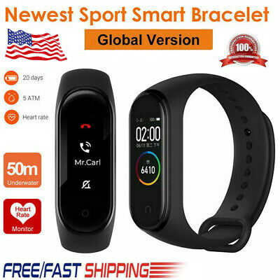 Fitness Tracker Sports Smart Watch Wristband Blood Pressure/Heart Rate Bracelet