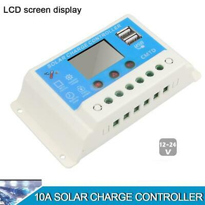 10A/20A 12V/24V Solar Panel Charge Controller Battery Regulator Protection DI