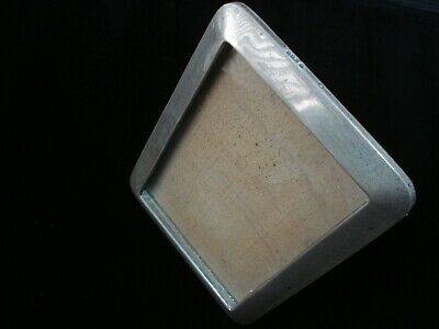 Solid Sterling Silver Photo Frame Birmingham 1910 Hallmark Antique