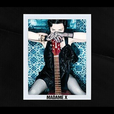 Madonna Madame X Deluxe 2019 HARDCOVER BOOKLET  Limited Edition Shm Cd JAPAN F/S