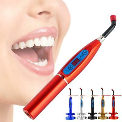 Dental LED Cure Lamp Wireless Cordless 5W 2000mW Curing Light Lamp Tools Kits DI