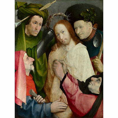 Hieronymus Bosch Christ Mocked The Crowning With Thorns XL Print Canvas Mural
