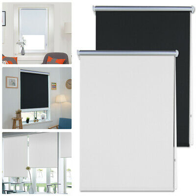 Window Roller Blinds 100% Thermal Blackout Made To Measure Up to 60 -110cm Shade