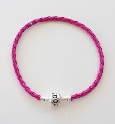 1PCS Water Red Leather Bracelets Chain Bangle Fit 925 European Charm Beads 20cm