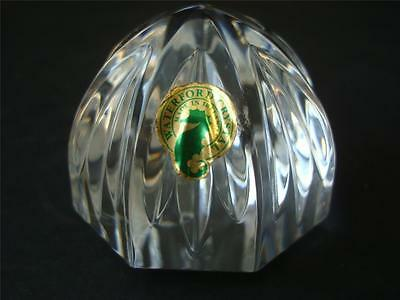 Waterford Dome Paperweight