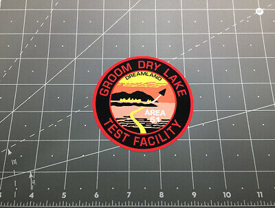 Area 51 Groom Dry Lake Test Facility decal sticker Roswell UFO alien ET Area-51