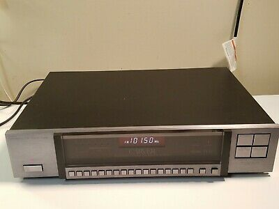 Carver TX-11 Quartz-Synthesized Asymmetrical Charge-Coupled FM Stereo Tuner.