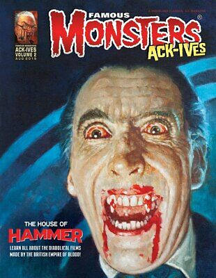 Famous Monsters Ack-Ives # 2  The House of Hammer Uncirculated