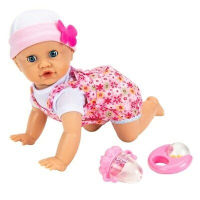 Adorable Interactive Giggles and Wiggles Cute Crawling Baby Doll Fun Playtime