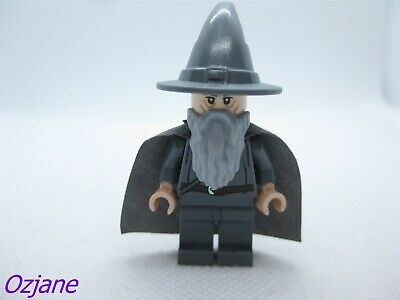 Gandalf no hat Lord of the Rings minifig lor061 FREE POST LEGO Minifigure
