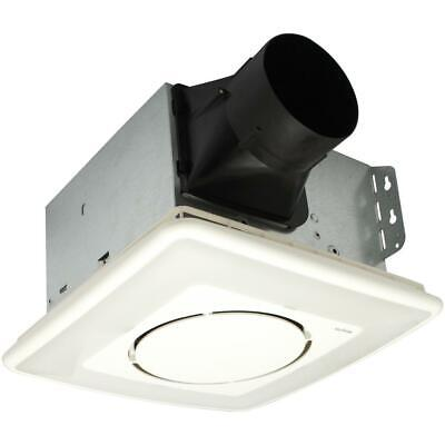 NuTone InVent 110 CFM Ceiling Bathroom Exhaust Fan Light and Soft Surround LED