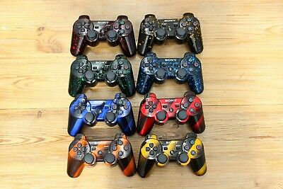 Sony Playstation 3 Dualshock 3 Wireless Controller Unique Colours - Free Cable