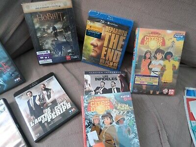 Lots 18 Blu-Ray Neuf Sous Blister + 10 Dvds Dont Des Coffrets Neuf